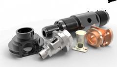 Various Materials CNC Machining Parts, AS Precision