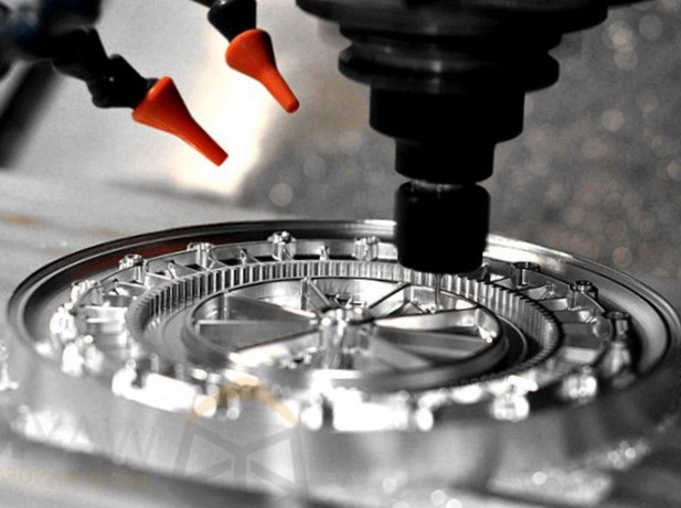 CNC Milling Process Image