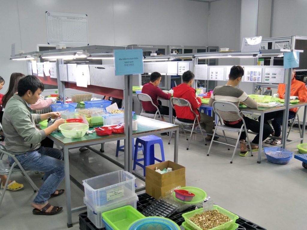 Viet Nam CNC Machining Service Inspection (AS Precision)