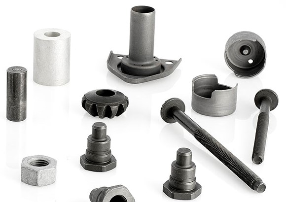 phosphating treatment on machined parts